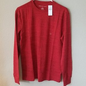 American Eagle Outfitters Red Tshirt